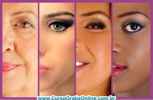 curso de maquiagem para todas peles