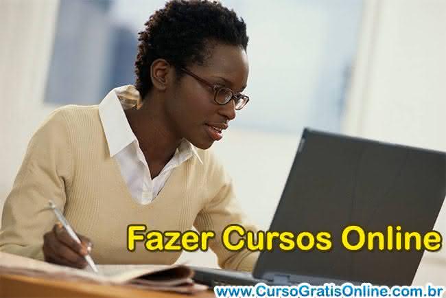 fazer cursos online