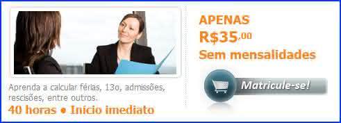curso online de departamento pessoal