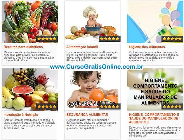 cursos de nutrição