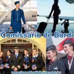 Curso de Comissário de Bordo – Salário e Informações