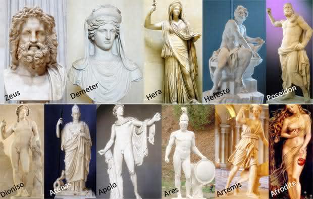deuses mitologia grega