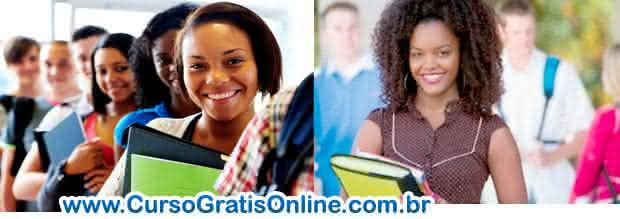 estudantes negros