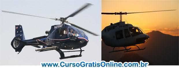curso piloto de helicóptero