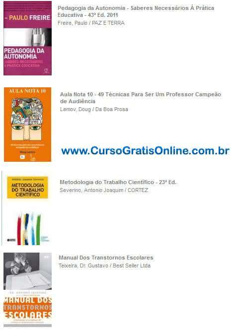 livros de pedagogia