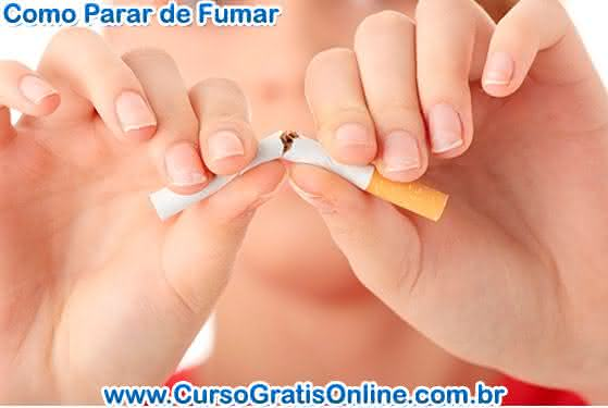 como parar de fumar