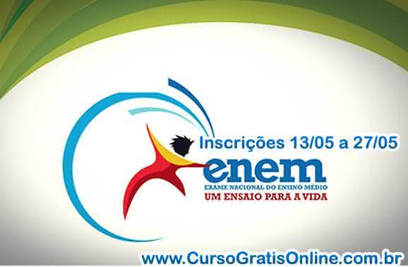 enem 2013 inscrição