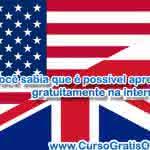 Cursos de Inglês Online Grátis – Aprenda Inglês Gratuitamente