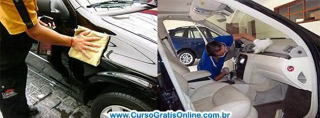 limpeza do carro