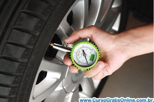calibrar pneus