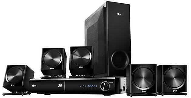 como instalar home theater