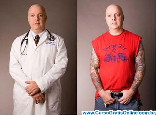 médico tatuado