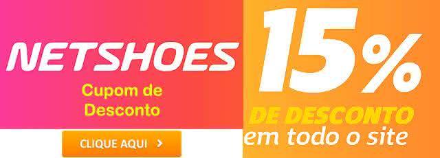 cupom netshoes