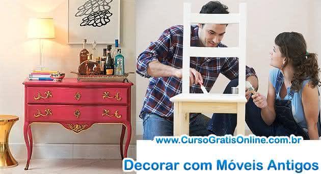 decoração de móveis antigos