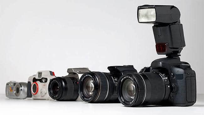 tipos de câmeras digitais