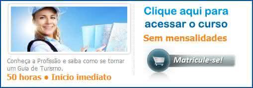 curso guia de turismo online