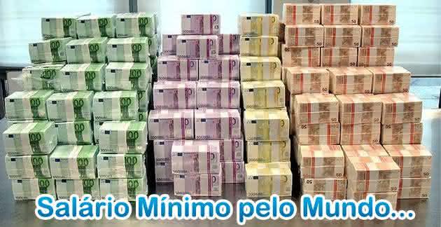 salarios mínimos pelo mundo