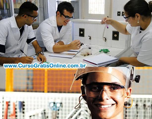 cursos técnicos grátis