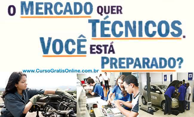 cursos técnicos online