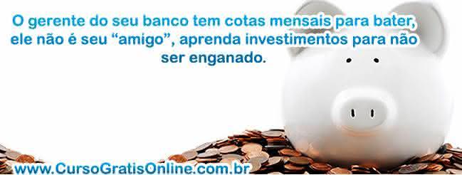 dicas de investimento