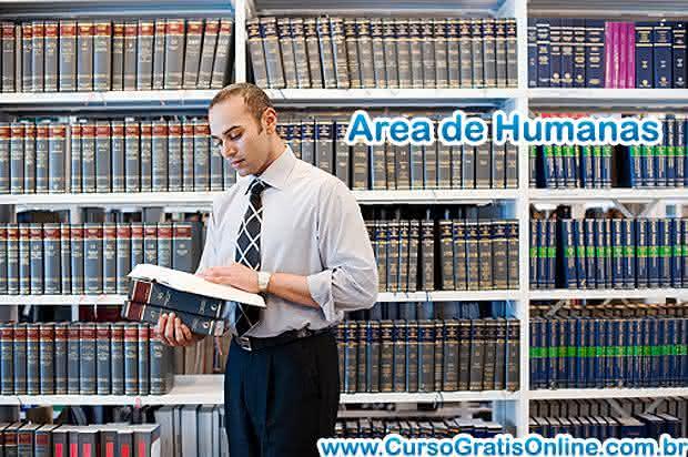 área de humanas