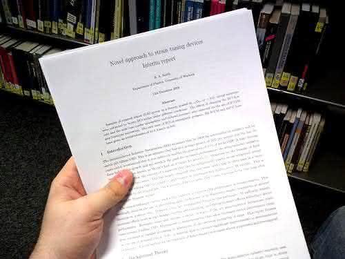 Como fazer um relatorio academico