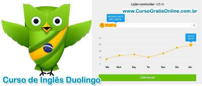 duolingo curso online de idiomas