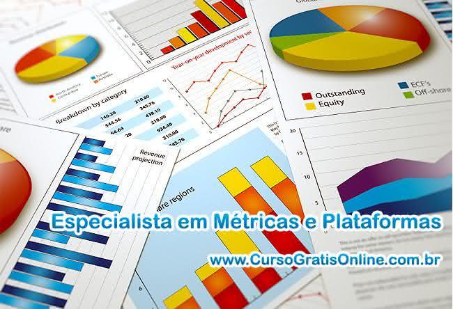 métricas e plataformas
