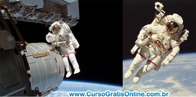 profissão astronauta