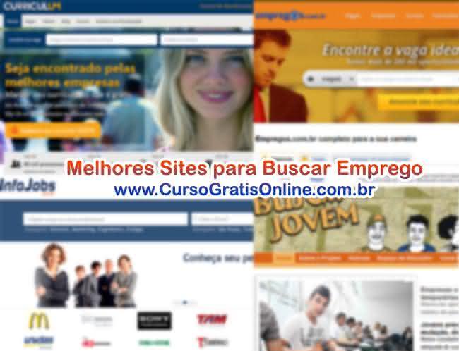 sites para buscar emprego