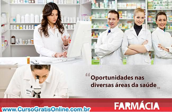 farmácia curso e faculdade