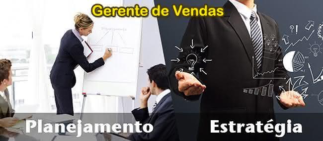 gerente de vendas e suas funções