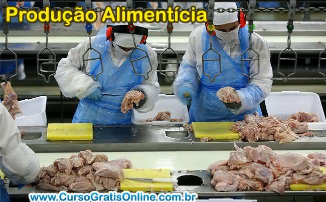 produção alimentícia