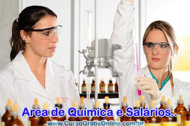 químico salários