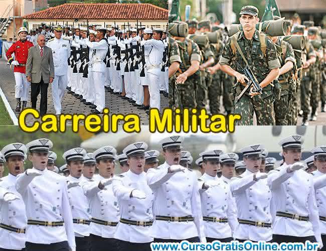 carreira de militar