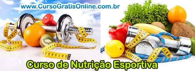 curso de nutrição esportiva