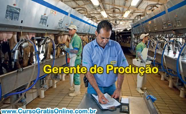 gerente de produção