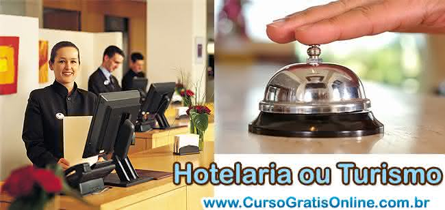 hotelaria ou turismo