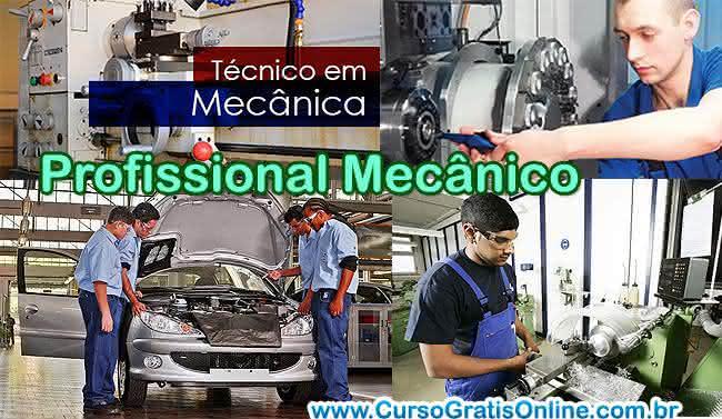 profissional mecânico