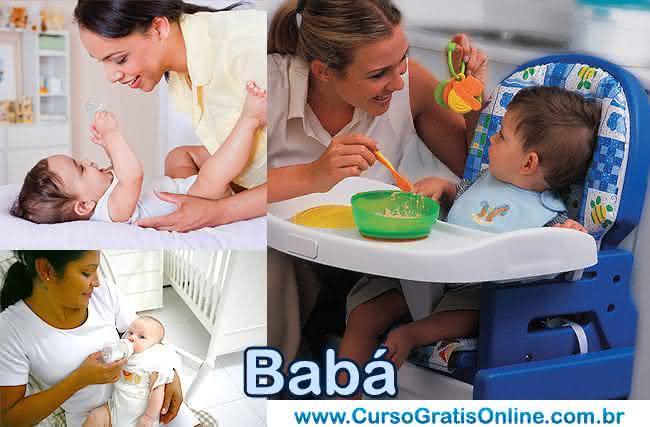 profissão babá