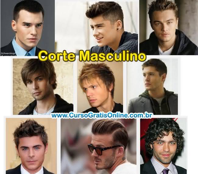 curso de corte masculino de cabelo