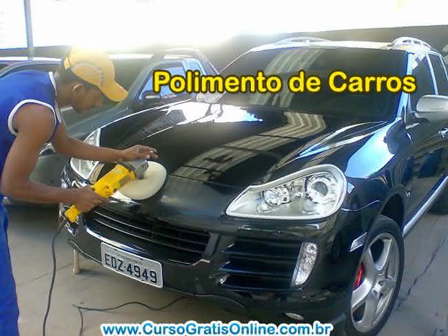 curso de polimento de carro