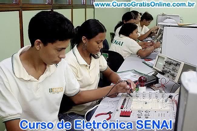 curso de eletrônica senai
