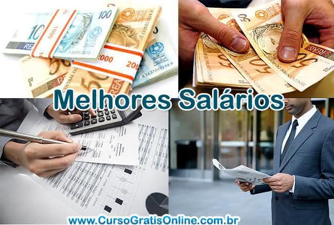 melhores salários no Brasil