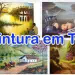 Curso de Pintura em Tela com Vídeo Aulas Grátis