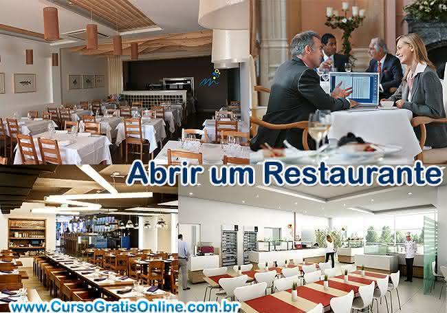 custos para abrir um restaurante investimento e retorno