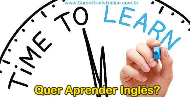 aprender inglês grátis