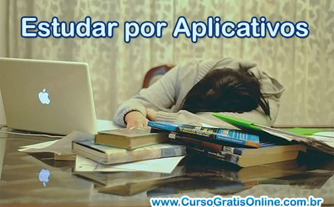 estudar por aplicativos