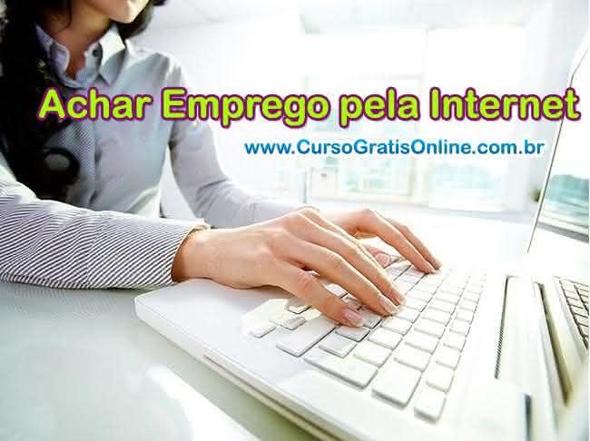 achar emprego pela internet