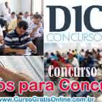 Cursos Online para Concursos Públicos